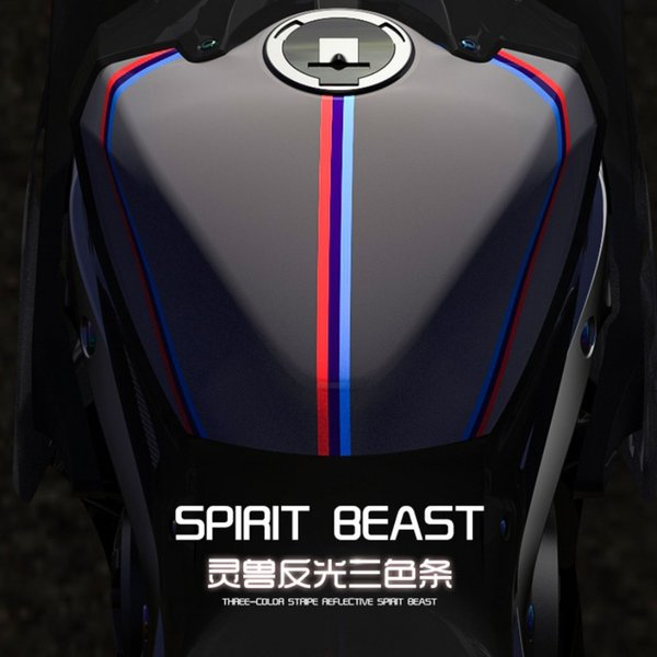 best selling Spirit Beast motorcycle modified pvc reflective stickers waterproof cool styling L2