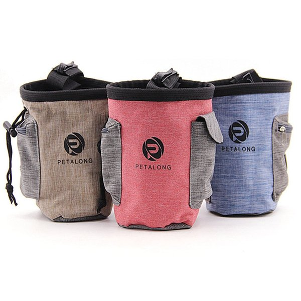 New Arrival Pet Dog Puppy Snack Bag Waterproof Obedience Hands Free Agility Bait Food Training Treat Pouch Train Pouch