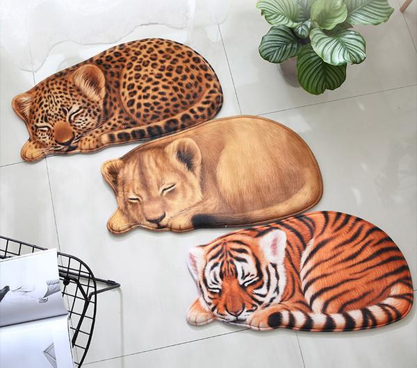 Carpets 3d Cool Animal Tiger Lion Leopard Print Home Floor Carpet