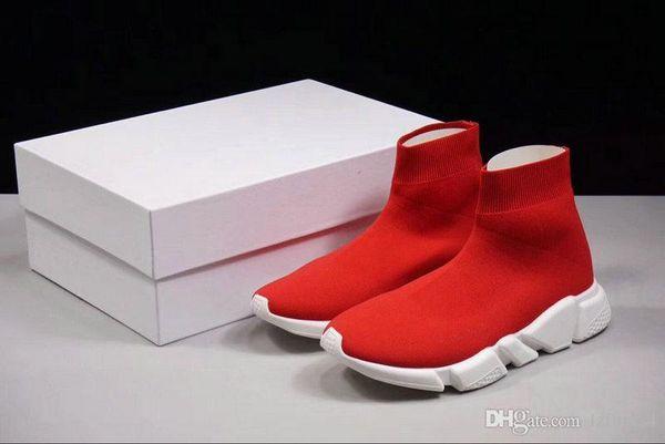 2018 Lzfboss4 носок обувь BAL*NCI * GA Повседневная обувь скорость тренер высокое качество кроссовки скорость тренер носок гонки бегуны черная обувь Люкс обувь