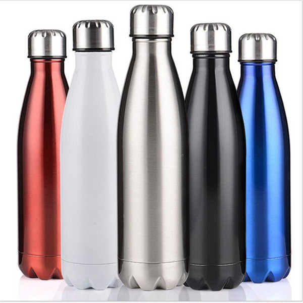Large Capacity Stainless Steel Water Bottle Hiking Insulation Cup Camping Bottle