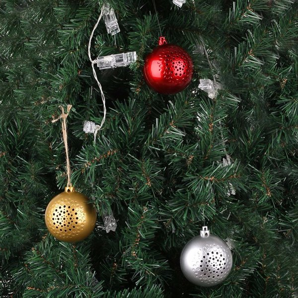 2018 new Christmas ball Bluetooth speaker audio holiday tree decoration gift portable music new wireless speaker