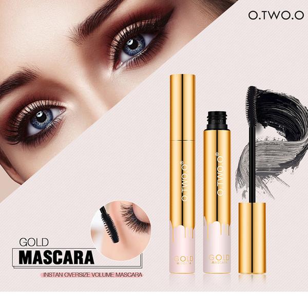 O.TWO.O Magic Waterproof Thickening Mascara Long-lasting Curling Lengthening Black Mascara