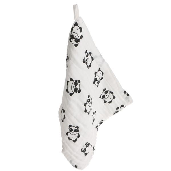 Everlasting 6 Camadas 25x25 cm Musselina Algodão Bebê Limpe Toalha Absorvente Macio Do Bebê Lenço
