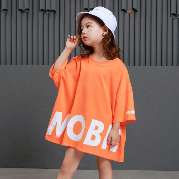 Kids Cool Loose Ballroom Jazz Hip Hop Dance Performance Costume Tank Top Shirt Shorts Girl Boy Stage wear Dancing Outfits Child