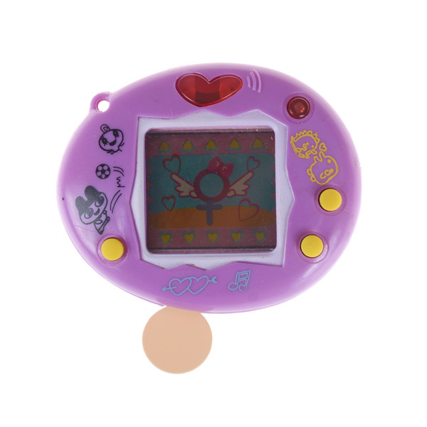 high quality Network Digital Pet Funny Toy Electronic Pets Handheld Game Gift For Kids Children Virtual (Battery included)