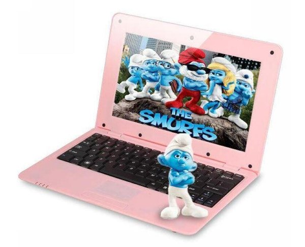 best selling Fashion Laptop Android 4.4 VIA 8880 1.5GHZ 10Inch Notebook Android laptop HDMI Laptop inch Dual core 1GB RAM 8 GB ROM Wi-fi Mini Netbook