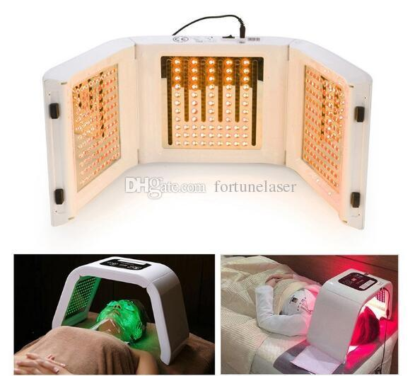 New Portable PDT LED skin rejuvenation for face and body spa salon equipment easy move and operation