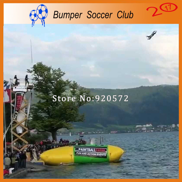 Free Shipping 5x2m Inflatable Water Blob Jumping Pillow Water Blob Jumping Bag Inflatable Trampoline For Sale