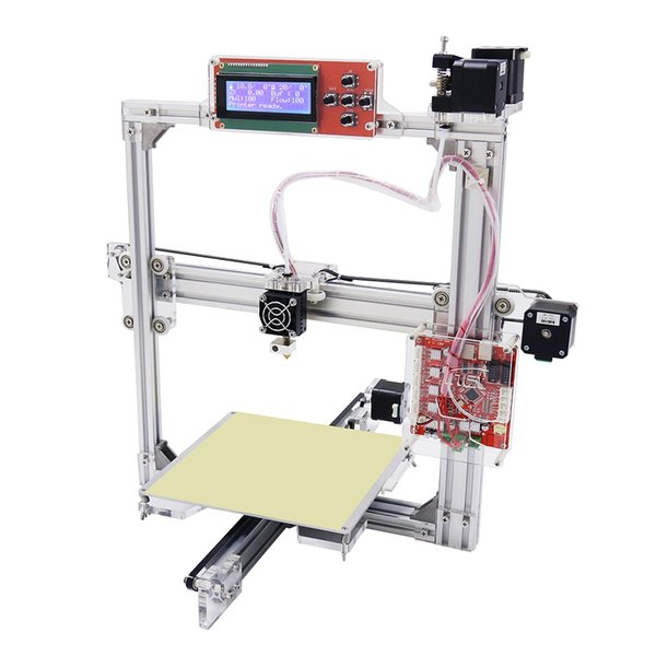 Anet A2 Aluminum Metal 3D Three-dimensional DIY Printer with TF Card Off-line Printing / LCD Display for filament 1.75mm