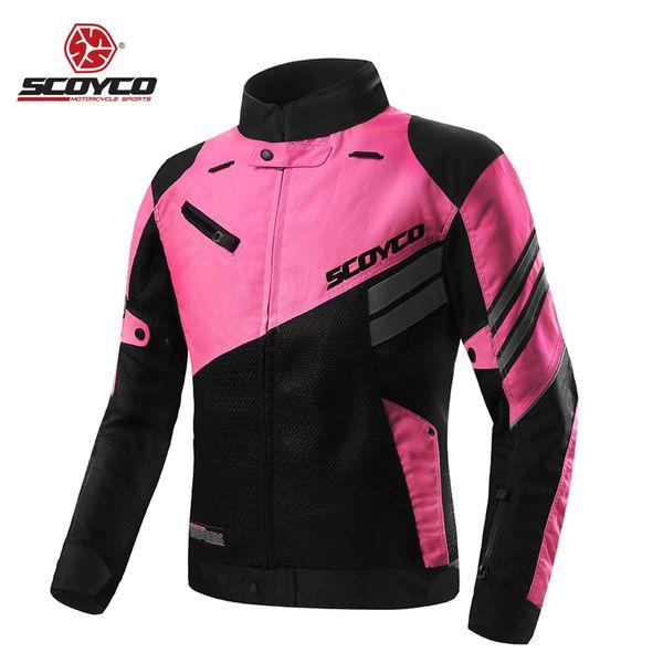 ec6c0688a96 Chaquetas de moto Mujer Moto Para Mujer Ropa CE Protector Reflect  Impermeable Motobike Motocross Racing Protección