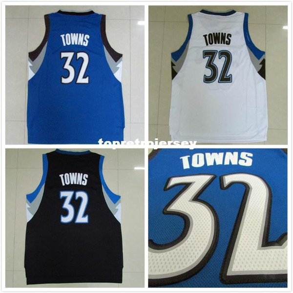 the latest bbcba 6cb7a 2018 #32 Karl Anthony Towns Jersey, Draft15 Cheap Blue White Black Karl  Anthony Towns Basketball Jersey S XXL From Hycollegejersey, $25.39 | ...