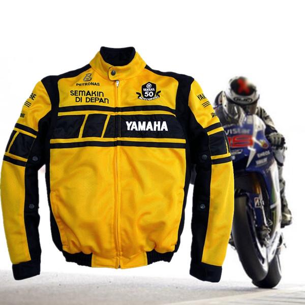 2019 Men Riding For Yamaha Motorcycle Jacket Motorcycle Protection Armor  Protect Pads MotoGP Gear Outdoor Sports Chaqueta Moto Verano From Cujuflo,