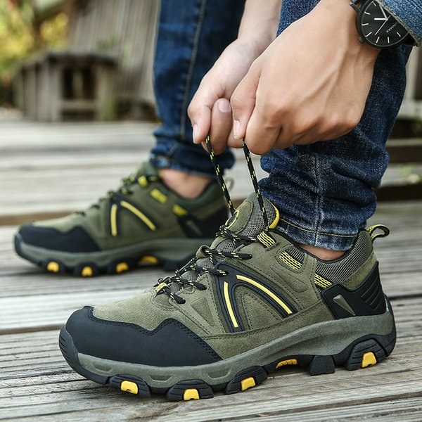 Real Original Brand Winter Athletic Rubber Low-Top Lace-Up Outdoor Sport Snow Ski Trekking Hunting Hiking Shoes Boots Men Women