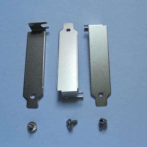 5 pcs Computer Case Rear Slot Bracket Blank Filler Cover Plate