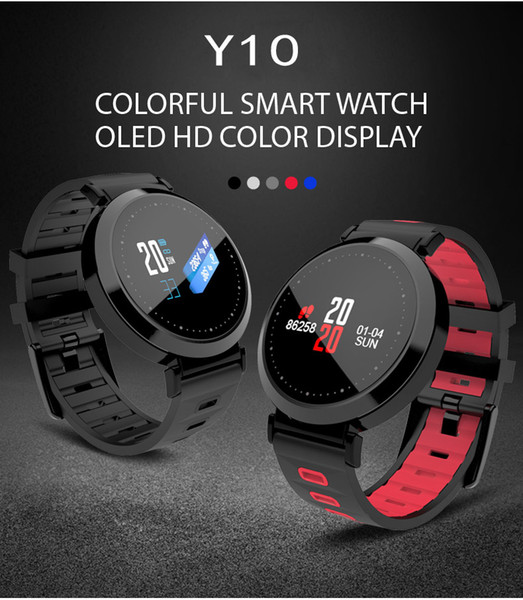 Y10 Smart Watch Heart Rate Fatigue Monitor Remote Control Camera Sleep Monitoring Smart Sports Watch