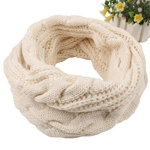New Winter Ladies Convertible Journey Infinity Scarf With Pocket All-match Fashion Women Scarves