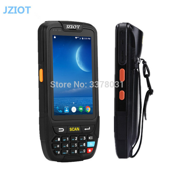 Rugged NFC RFID reader 3G 4G wifi handheld terminal touch screen 1d laser 2d barcode scanner industrial android pda