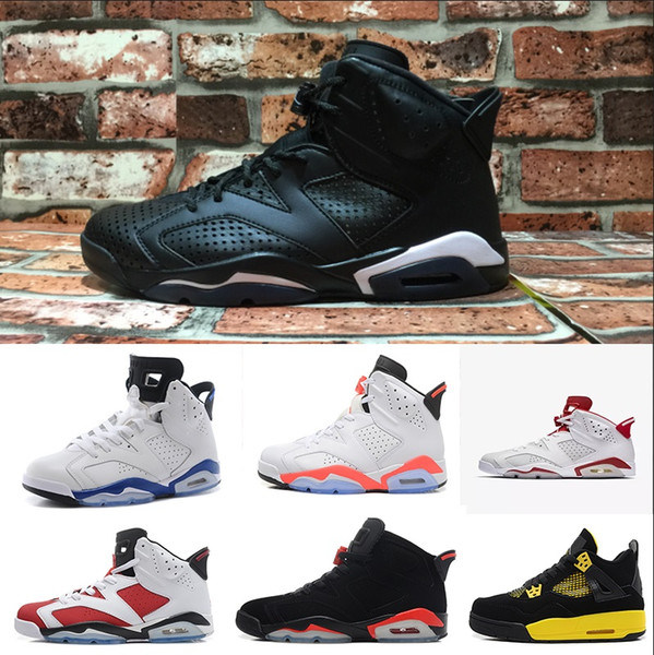 Acheter Nike Air Jordan 1 4 6 11 12 13 Retro Mens OG Basket Chaussures Métallique Or Blanc Infrarouge Marron Noir Chat Alternatif Lièvre Oreo Carmin