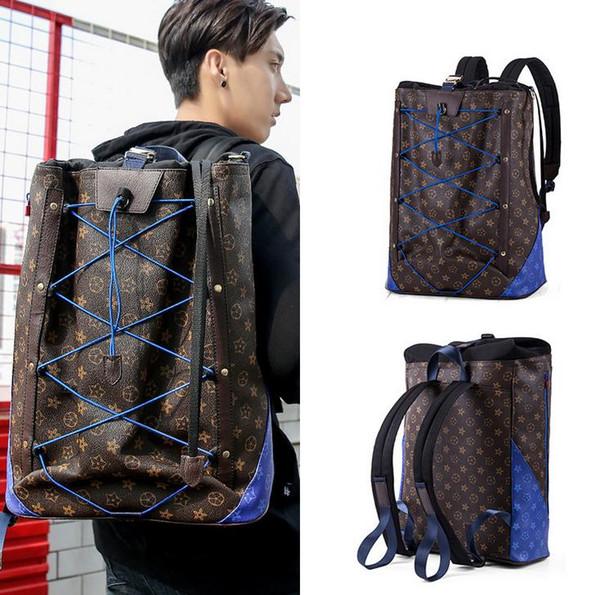 Marca quente recomendado homens e mulheres mochila de moda de alta qualidade impresso mochila de grande capacidade ao ar livre saco de alpinismo Livre sh