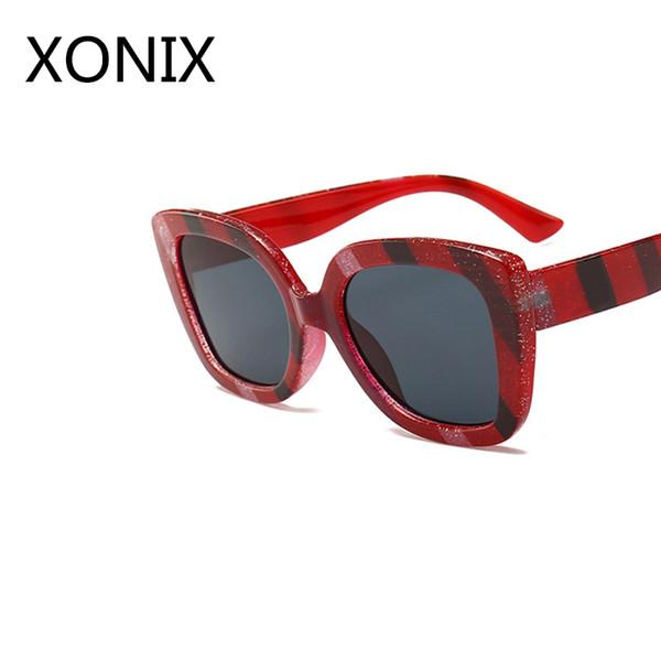 94b76421c23be XONIX 2018 Novo Designer de Marca de Alta Qualidade Quadrado Óculos De Sol  Da Forma Das