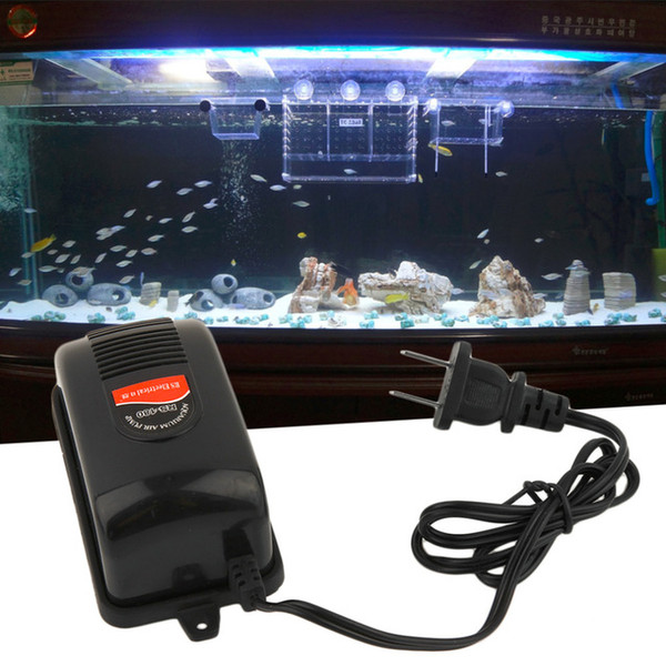 Electrical 220V 3W Adjustable Super Silent Water Fish Tank Aquarium Oxygenation Oxygen Air Pump +Pipe Tube+Air stone Tubing
