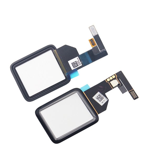 (MOQ 50Pcs) Touch Screen Digitizer Front Glass Panel For Apple Watch Series 1 38mm 42mm LCD Outer Panel Replacement Ship via DHL