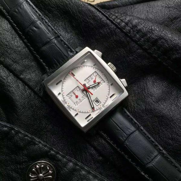 Neue Marke klassische Männer Quarz Quadrat Männer Armbanduhr Mode lässig wasserdicht 5 Pin Kalender Herrenarmbanduhren