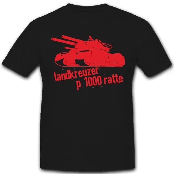 Printing Casual T Shirt Tees Men's Ratte Panzer Wh Zweiter Weltkrieg Men's T-Shirt Short Sleeve Fashion Crew Neck T Shirts