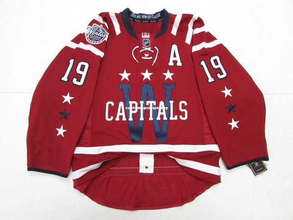 e2c440ee Cheap custom Nicklas Backstrom WASHINGTON CAPITALS 2015 WINTER CLASSIC  JERSEY stitch add any number any name