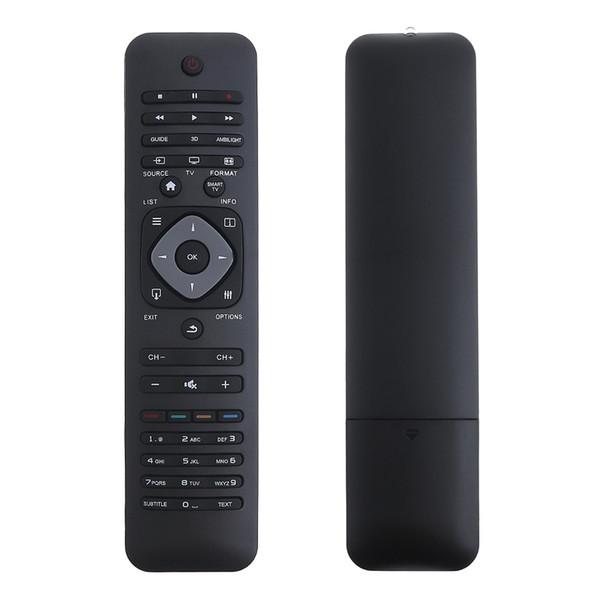 Controle Remoto Universal TV com Longa Distância de Transmissão para Philips RM-L1128 LCD / LED Smart TV 3D HMP_009