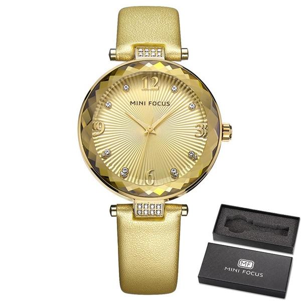 Fashion Luxury Women Watch Famous Brands Gold Fashion Design Bracelet Watches Ladies Women Leather Band Wrist Watches Relogio Femininos