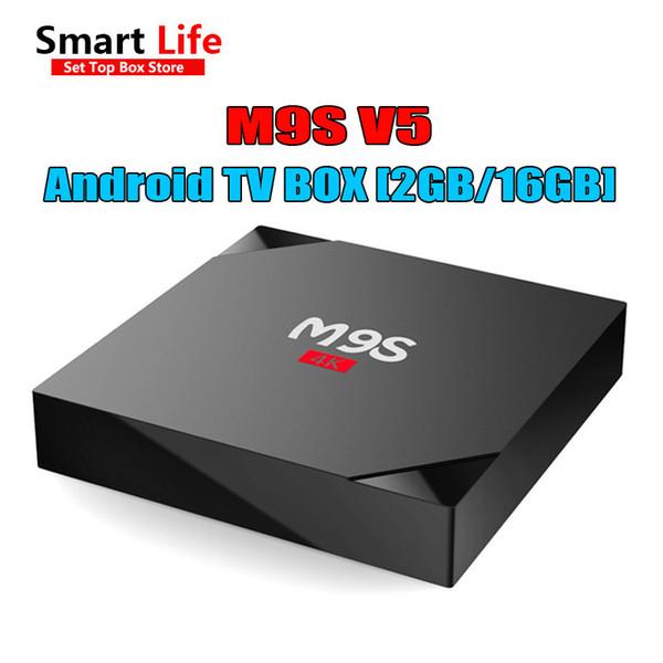 2gb+16gb M9s V5 4k Android 6 0 Smart Iptv Tv Box Bluetooth Rk3229 Wifi 4k  Media Player 4k 17 3 Add Ons Media Player Best Smart Tv Smart Tv Reviews