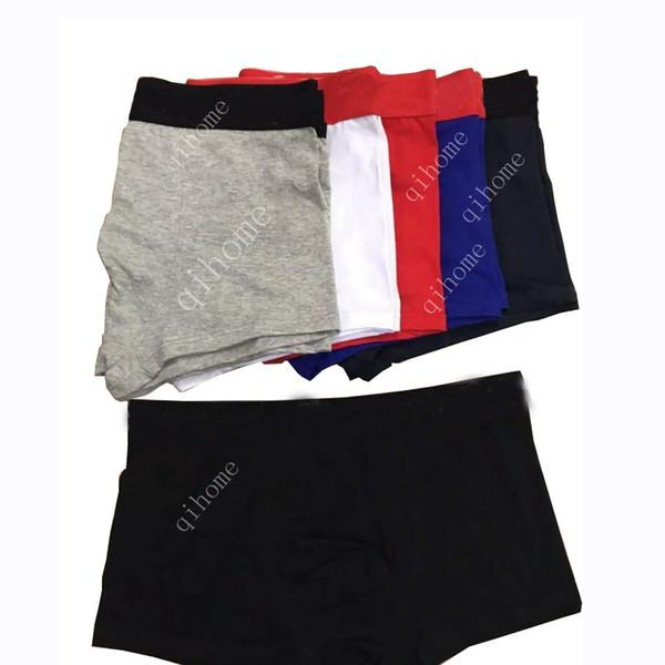 Designer de luxo Dos Homens Cueca Boxer Shorts Sexy Men Underwear Cueca Boxer cueca confortável Underwear Homem Calças Cuecas Masculinas de algodão