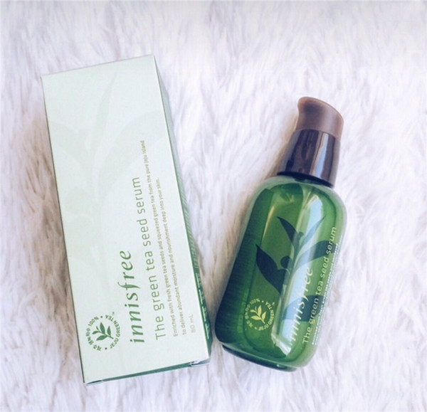 best selling Hot Sale INNISFREE Korea Green Bottle CREAM THE Green Tea Seed Serum Moisturizing Face Care Lotion 80ML New Face Skin Care Cream