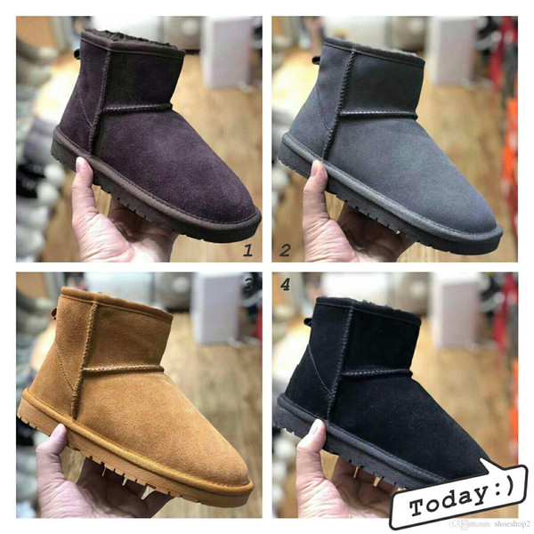 2018winter New WGG Australia Classic snow Boots A+++ Quality Cheap women winter boots fashion discount Ankle Boots shoes size 5-12