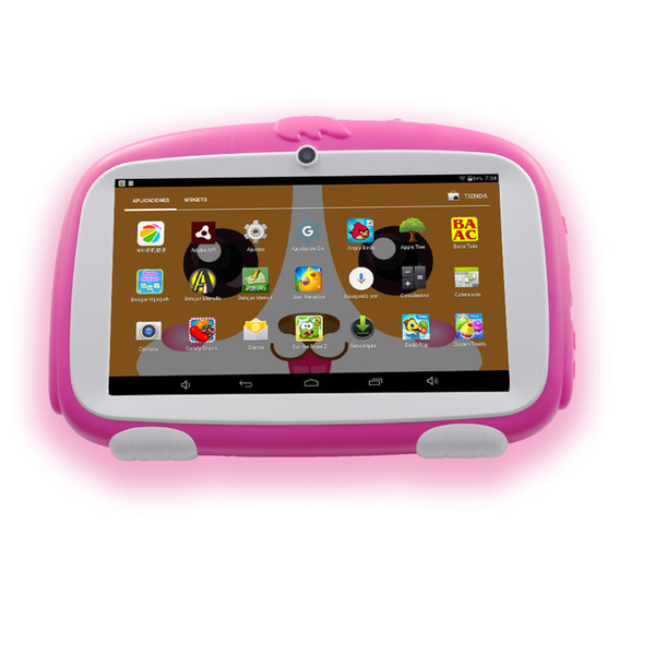 2018 BDF New 7 Inch Android 4.4 Tablet Pc WiFi kids tablet 8G storage infantil Children's learning gifts