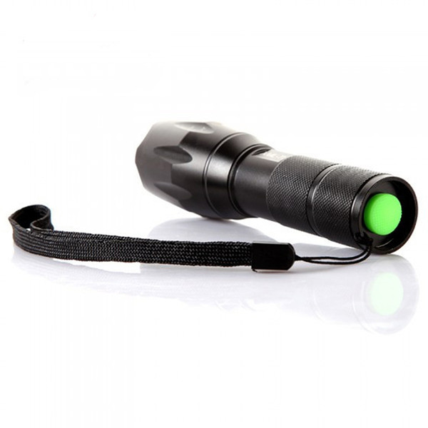 T6 3800Lumens High Power LED Zoomable Tactical LED Flashlights torch light for AAA or 18650 battery
