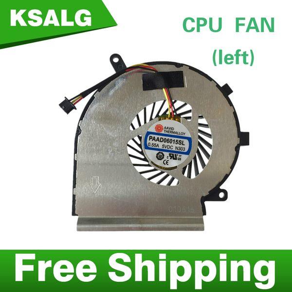 Wholesale- New CPU Cooling Fan For MSI GE72 GE62 PE60 PE70 GL62 GL72 PAAD06015SL 3pin 0.55A 5VDC N303