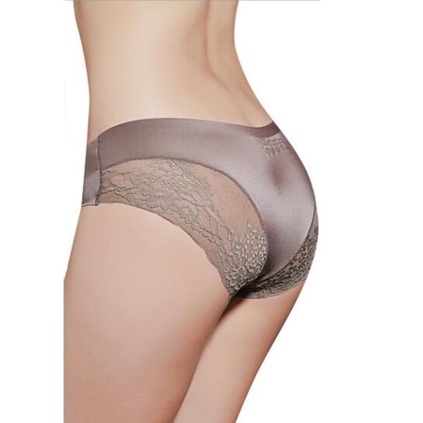Women Lace Sexy Panties Luxury Seamless Solid Underwear Low Waist Woman Briefs Female Slim Breathable Underpants Dropshipping
