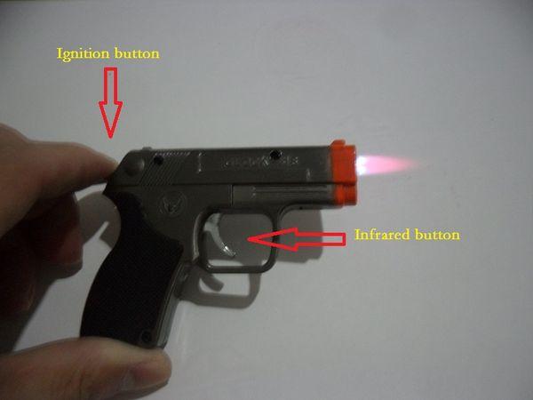 Briquets au butane + infrarouge