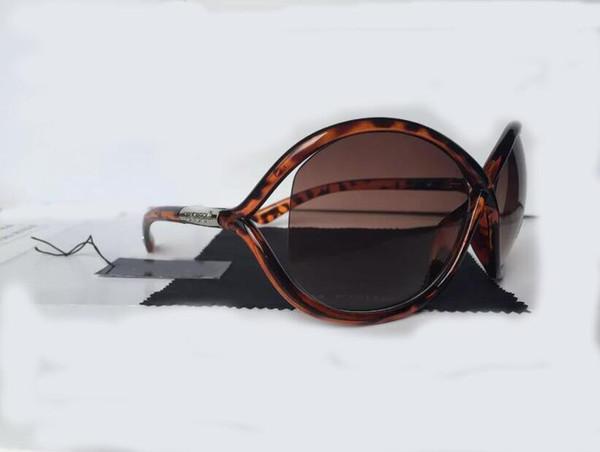 Luxe Haute Qualtiy Nouvelle Mode 0394 Tom Lunettes De Soleil Pour Homme Femme Erika Lunettes Ford Designer Marque Lunettes De Soleil Avec Original