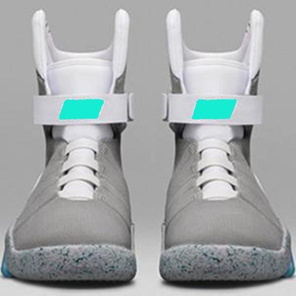 nice shoes fast delivery 100% authentic Großhandel Mit DHL 2017 Mag McFly Keine Automatische Schnürsenkel LED  Beleuchtete Schuhe Marty McFly Zurück In Die Zukunft Casual Sneakers Von ...