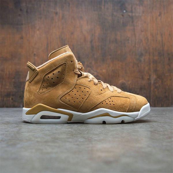 Großhandel Vorhanden Golden Harvest Weizen Männer Basketball Schuhe 6er Herren Sportschuhe Turnschuhe Leichtathletik Schuhe XZ35 Von Buybestway,