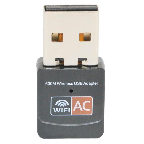 Adaptateur WiFi USB 600Mbps Dual Band 2.4G / 5GHz RTL8811CU Carte réseau sans fil Mini Lan Adaptateurs Wi-fi 600M Récepteur Ethernet 802.11AC