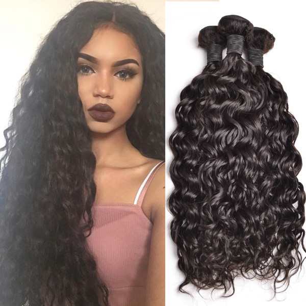 Best Selling Cheap Unprocessed nature Jerry Curl 8 - 30 inch, 5A quality jerry curl brazilian hair 3 PCS Lot 3,4,5pcs/lot