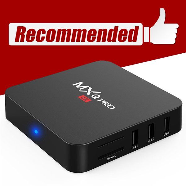 top popular Mxq Pro Android 7.1 TV Box S905W RK3229 H3 Quad Core 1GB 8GB Media Center 18.0 2.4G WiFi X96 Mini 2019
