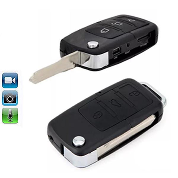Mini Car Key Chain Camera Security DVR Video Recorder Cam Mini Car KeyChain Camera Security DVR Video