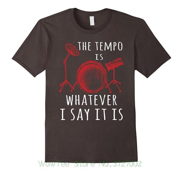 Le tempo est ce que je dis le mieux. Tee-shirt cool pour cadeau de batteur T-Shirts