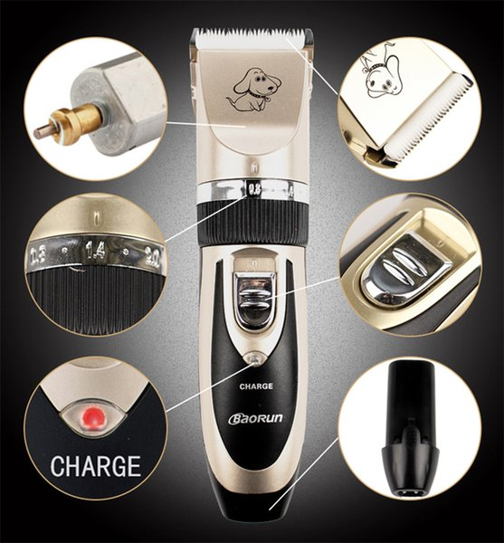 Professional Pet Dog Hair Trimmer Animal Grooming Clippers Cat Cutter Machine Shaver Electric Scissors Mower Clipper